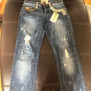 💜 BNWT Parasuco Denim womens fashion jeans 26
